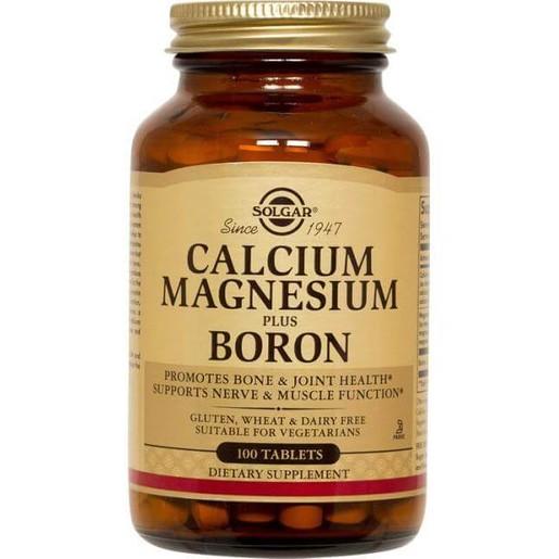 Calcium Magnesium Plus Boron 100 tabs - Solgar