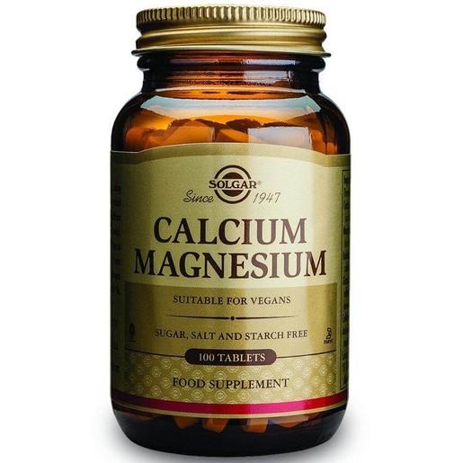 Solgar Calcium Magnesium 100 tabs