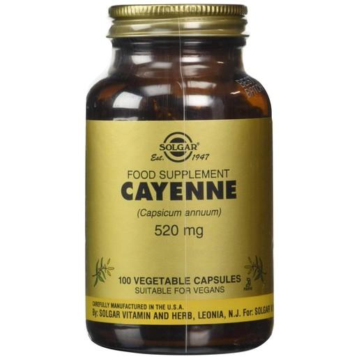 Solgar Cayenne 520mg 100 veg.caps