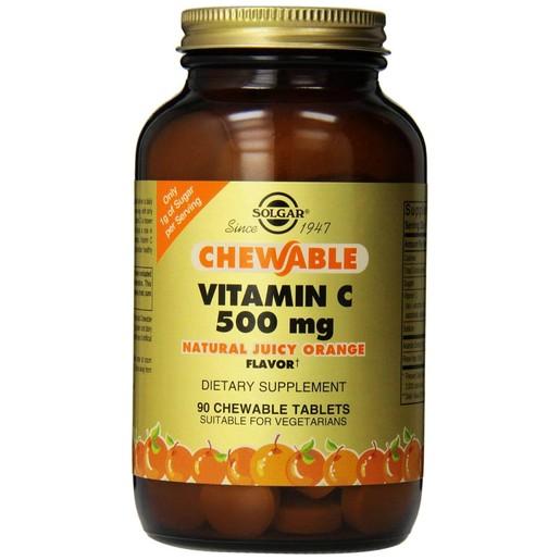 Solgar Chewable Vitamin C 500mg 90 chew.tabs