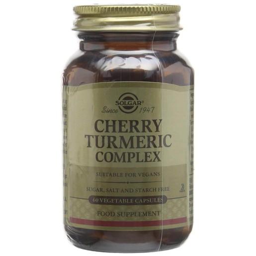 Solgar Cherry Turmeric Complex 60 veg caps