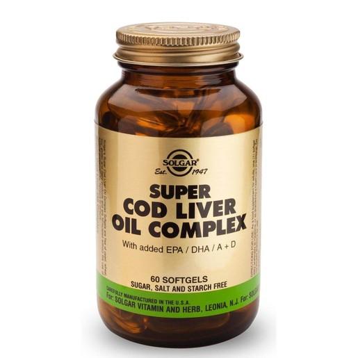 Solgar Super Cod Liver Oil Complex 60 softgels