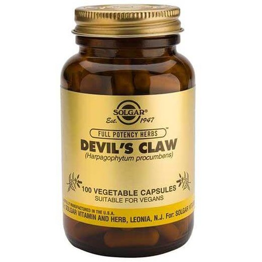 Devil's Claw 100 veg.caps - Solgar
