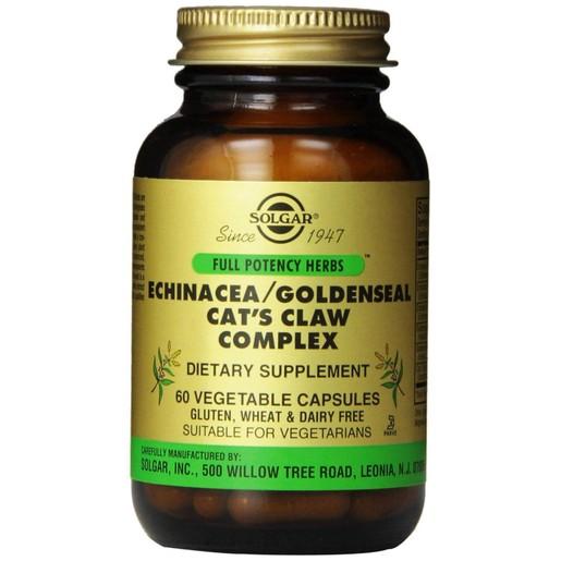 Solgar Echinacea/ Goldenseal/ Cat's Claw Complex veg.caps