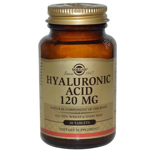 Solgar Hyaluronic Acid Complex 120mg 30 tabs