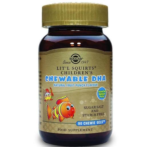 Solgar Children\'s Chewable Dha 90 chewie-gels