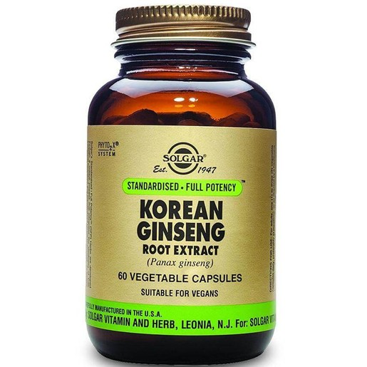 Solgar Sfp Korean Ginseng Root Extract veg.caps