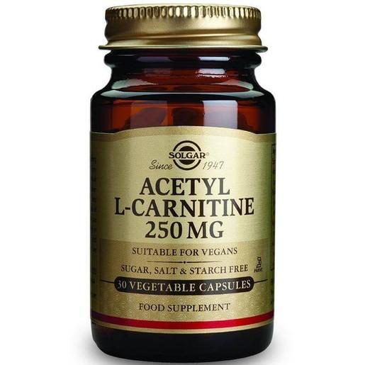 Solgar Acetyl-L-Carnitine 250mg 30 veg.caps