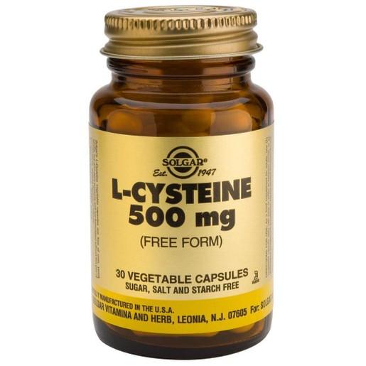 Solgar L-Cysteine 500mg 30 caps
