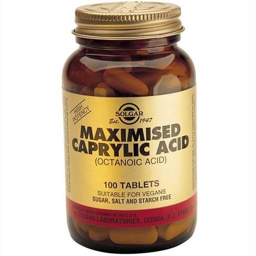 Solgar Maximised Caprylic Acid 100 tabs