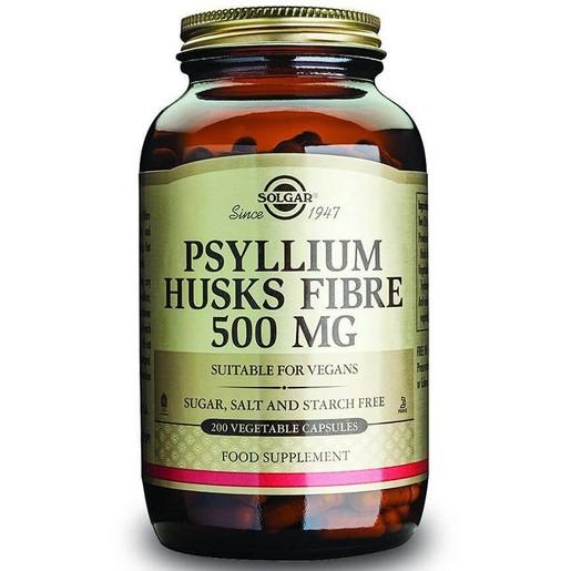Solgar Psyllium Husks Fibre veg.caps/powder