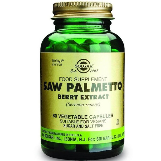 Solgar Sfp Saw Palmetto Berry Extract 60 veg.caps