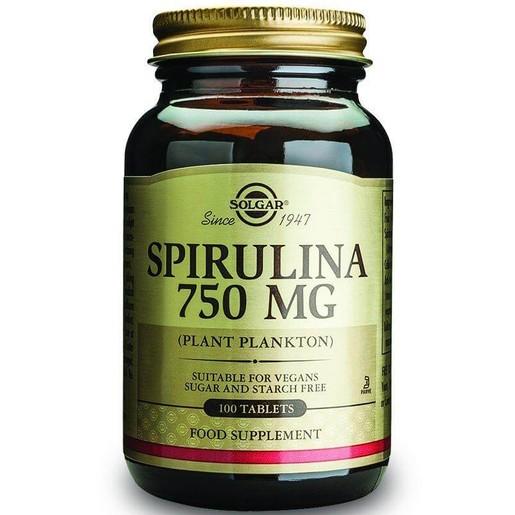 Solgar Spirulina 750mg 100 tabs