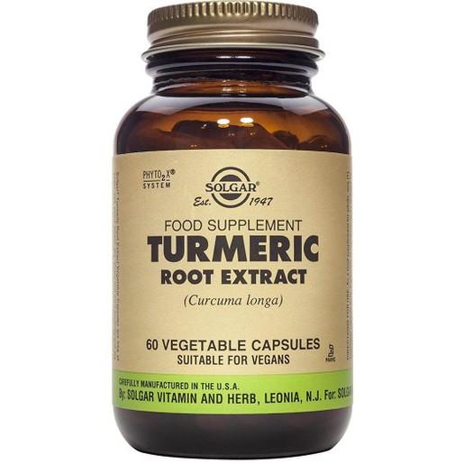 Solgar Standardised Turmeric Root Extract 60 veg.caps