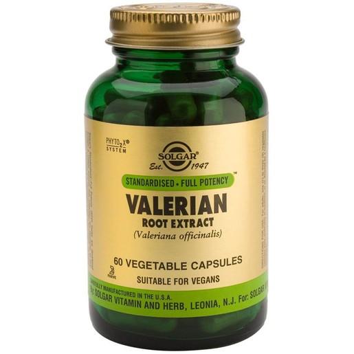 Solgar Standardised Valerian Root Extrac 60 veg.caps
