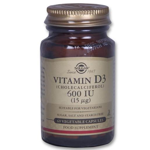 Solgar Vitamin D3 600iu 60 veg.caps