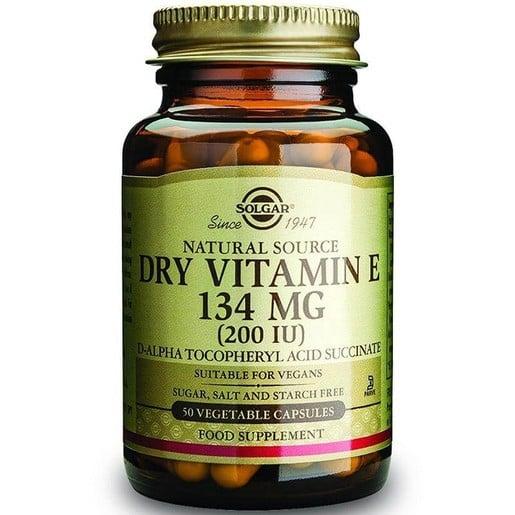 Solgar Vitamin E Dry veg.caps