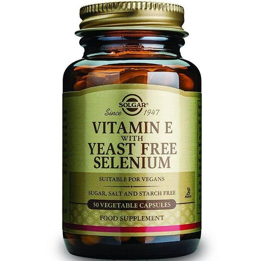 Solgar Vitamin E With Yeast-Free Selenium veg.caps