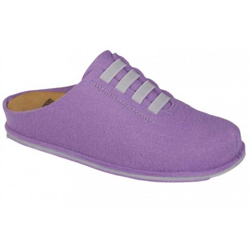 Dr Scholl Shoes Spikey10 Λιλά-Γκρι Γυναικείες Ανατομικές Παντόφλες Χαρίζουν Σωστή Στάση, Φυσικό Χωρίς Πόνο Βάδισμα 1 Ζευγάρι