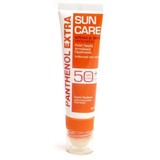 Medisei Panthenol Extra Sun Care Face Cream & Stick Spf50+ 30 ml