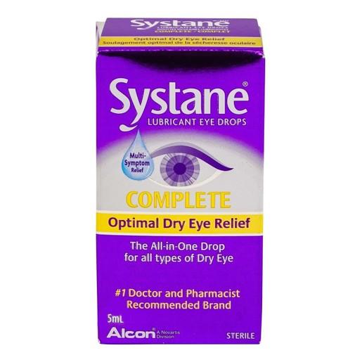 Systane Complete Λιπαντικές Σταγόνες για την Βέλτιστη Ανακούφιση της Ξηροφθαλμίας
