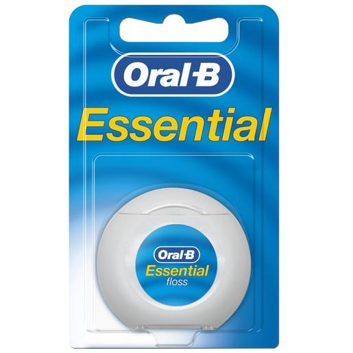 Oral-B Essential Floss Οδοντικό Νήμα Ακήρωτο 50ml