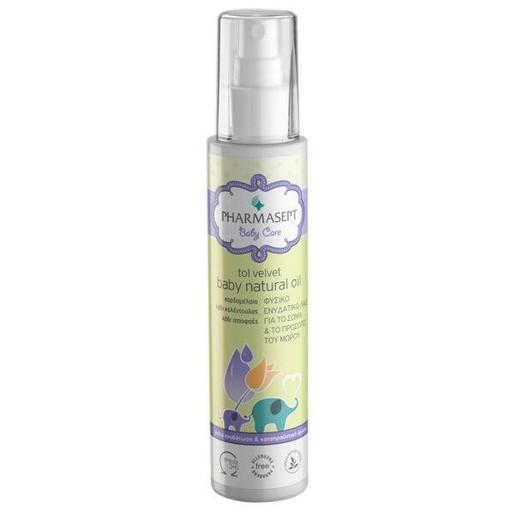 Pharmasept Baby Care Tol Velvet Baby Natural Oil Βρεφικό Υποαλλεργικό Λάδι Ενυδάτωσης 125ml