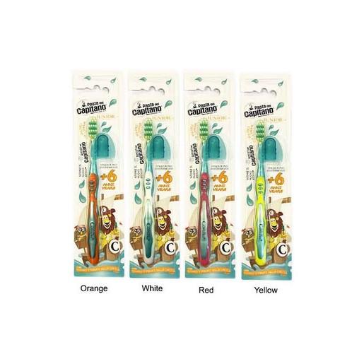 Pasta Del Capitano Junior Toothbrush Παιδική Οδοντόβουρτσα Από 6 Ετών 1 Τεμάχιο