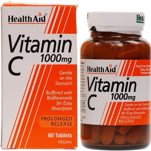 Health Aid Vitamin C 1000mg With Bioflavonoids 60tabs