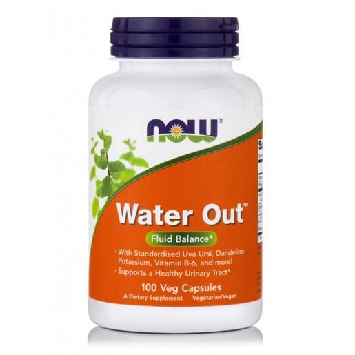 Now Foods Water Out™ Συμπλήρωμα Διατροφής, Μείγμα Βοτάνων που Προάγει την Υγεία του Ουροποιητικού Συστήματος 100 VegCaps