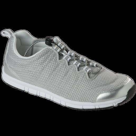 Dr Scholl Shoes Wind Step Ασημί Ανατομικά Παπούτσια, Χαρίζουν Σωστή Στάση & Φυσικό, Χωρίς Πόνο Βάδισμα 1 Ζευγάρι