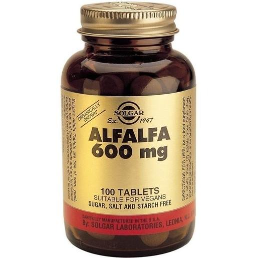 Solgar Alfalfa 600mg 100 tabs
