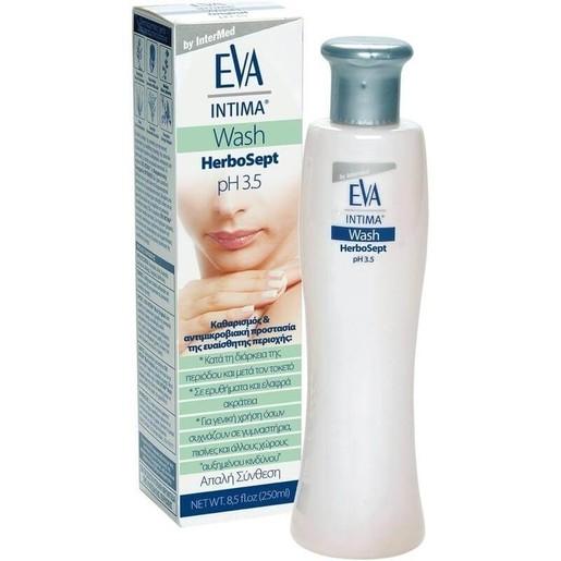 Eva Intima Wash Herbosept Καθαρισμός, Απόσμηση & Περιποίηση της Ευαίσθητης Περιοχής 250ml