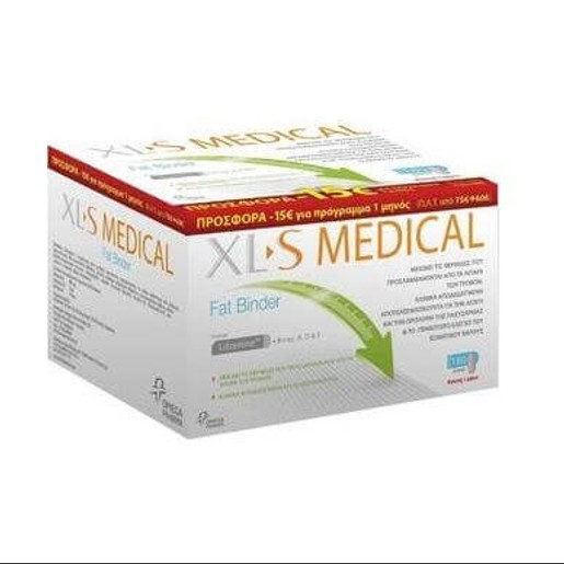 Xls Medical  Fat Binder 180caps (Αγωγή 1 Μήνα)