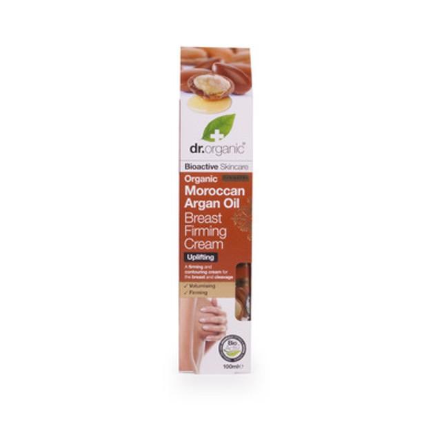 Dr Organic Organic Moroccan Argan Oil Breast Firming Cream Κρέμα Σύσφιξης για το Στήθος  100ml