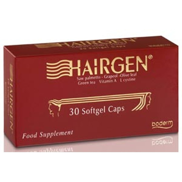 Boderm Hairgen - Ειδική Σειρά για την Άμεση Αντιμετώπιση της Τριχόπτωσης 30 Softgel caps