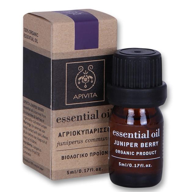 Apivita Essential Oil Juniper Αγριοκυπάρισσο 5ml