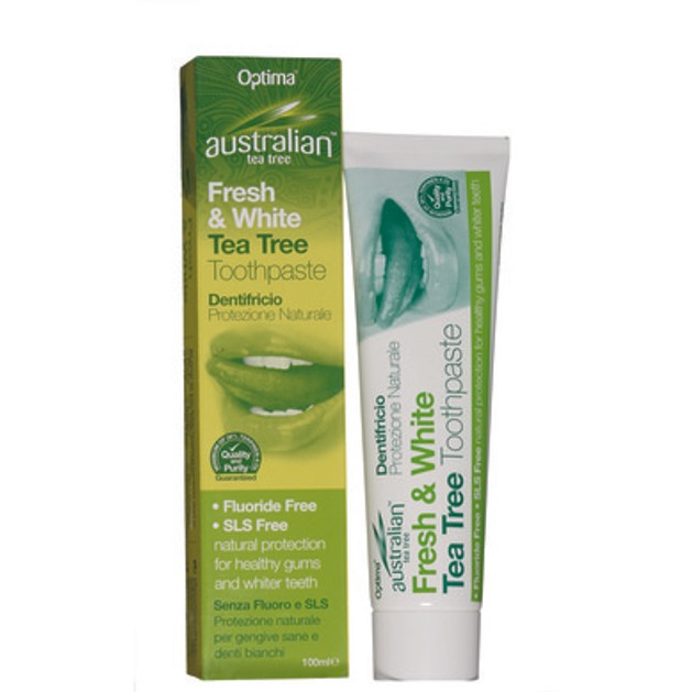 Optima Australian Organic Tea Tree Toothpaste 100ml