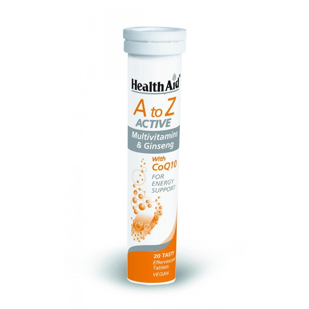 Health Aid Α to Ζ Αctive With CoQ10 20eff.tabs
