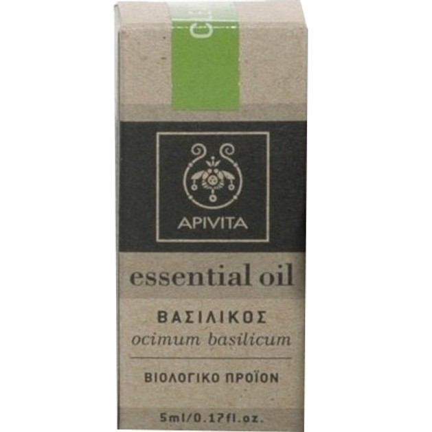 Apivita Essential Oil Basil Βασιλικός 5ml