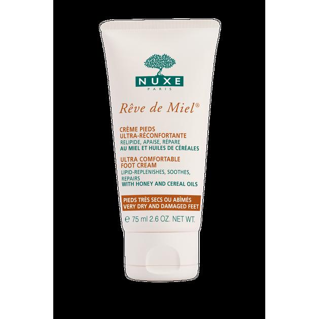 Nuxe Reve De Miel Creme Pieds  Κρέμα Ποδιών Επανορθώνει και Καταπραύνει τα Πολύ Ξηρά και Σκασμένα/Ταλαιπωρημένα Πόδια 75ml
