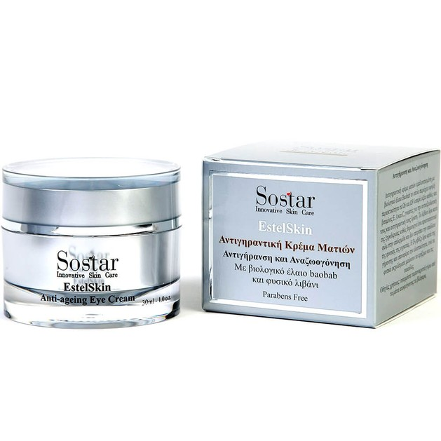 Sostar EstelSkin Anti-ageing Eye Cream 30ml