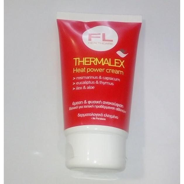 Fl products Thermalex Heat Power Cream Άμεση & Φυσική Ανακούφιση 125ml