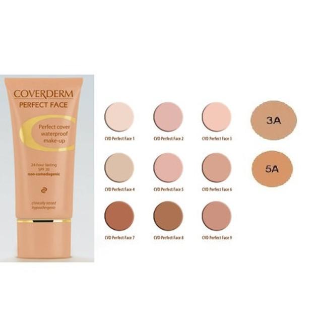 Coverderm Perfect Face Make-up Με Απαλή Κρεμώδη Υφή  30ml