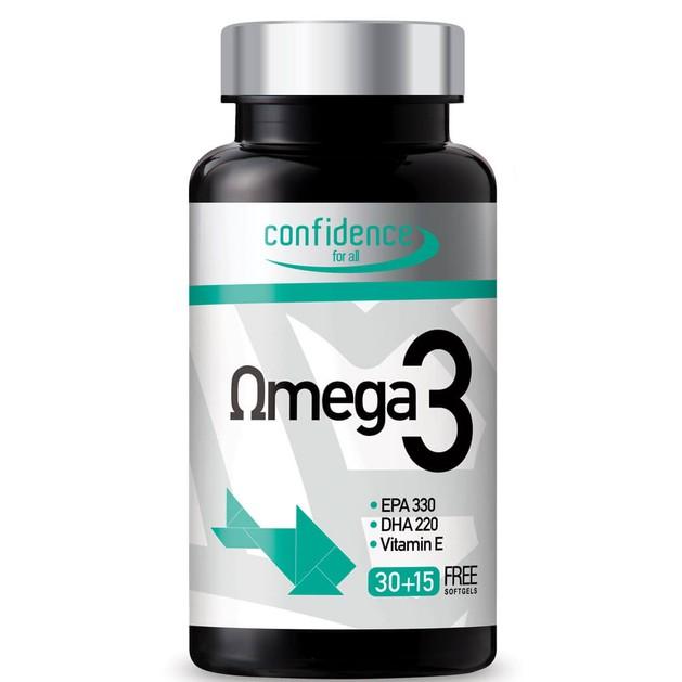Confidence Omega3 (30+15 free softsgels)
