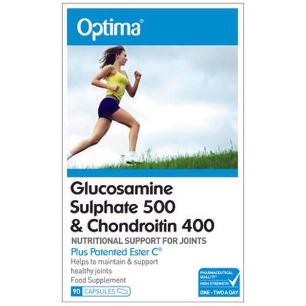 Optima Glucosamine & Chondroitin plus Ester C 90caps