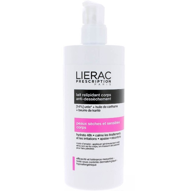 Lierac Prescription Lait Relipidant Corps 400ml