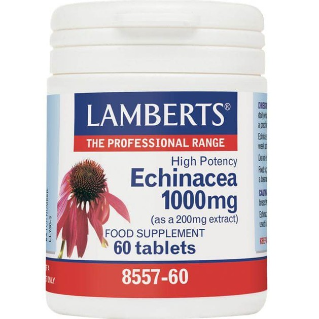 Lamberts Echinacea1000mg 60 tabs