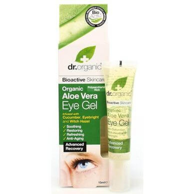 Dr.Organic Organic Aloe Vera Eye Gel 15ml