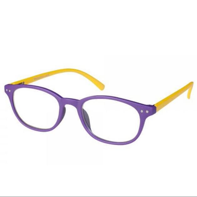 Eyelead Γυαλιά Διαβάσματος Unisex Μωβ Κίτρινο Κοκκάλινο E155